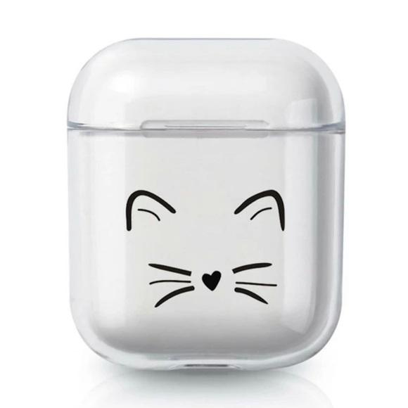 Shein Accessories Black Kitty Pattern Airpods Case Poshmark
